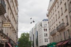 κρεμώντας παπούτσια Στοκ φωτογραφίες με δικαίωμα ελεύθερης χρήσης