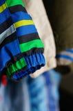 Κρεμώντας σακάκια Στοκ Φωτογραφία