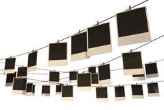 Κρεμώντας στοά Polaroid διανυσματική απεικόνιση
