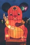 Κρεμώντας φανάρι σε ένα ελαφρύ φεστιβάλ στο νησί του Μπαλί, Ινδονησία Στοκ Εικόνες