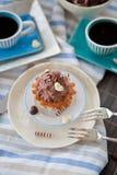 Κρεμώδες Cupcakes Στοκ Εικόνα