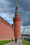 Κρεμλίνο Μόσχα Πύργος Beklemishevskaya (Moskvoretskaya) Στοκ Εικόνες