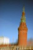 Κρεμλίνο Μόσχα Φωτογραφία χρώματος Αντανάκλαση ύδατος Στοκ φωτογραφίες με δικαίωμα ελεύθερης χρήσης