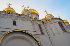 Κρεμλίνο Μόσχα Φωτογραφία χρώματος 19$ο annunciation 17 ορόσημο Ουκρανία πόλεων αιώνα καθεδρικών ναών kharkov Στοκ Φωτογραφία