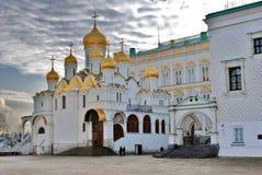 Κρεμλίνο Μόσχα Φωτογραφία χρώματος 19$ο annunciation 17 ορόσημο Ουκρανία πόλεων αιώνα καθεδρικών ναών kharkov Στοκ Εικόνες