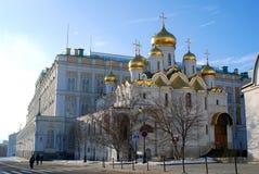 Κρεμλίνο Μόσχα Φωτογραφία χρώματος Annunciation εκκλησία Στοκ Εικόνες