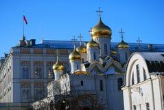 Κρεμλίνο Μόσχα Φωτογραφία χρώματος Annunciation εκκλησία Στοκ Φωτογραφίες