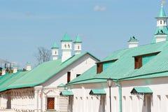 Κρησφύγετα του νέου Ιερουσαλήμ μοναστηριού Voskresensky Στοκ εικόνες με δικαίωμα ελεύθερης χρήσης