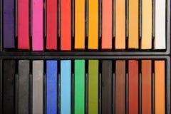 κρητιδογραφία χρωμάτων Στοκ εικόνα με δικαίωμα ελεύθερης χρήσης