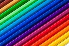 κρητιδογραφία χρωμάτων Στοκ φωτογραφία με δικαίωμα ελεύθερης χρήσης