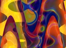 κρητιδογραφία χρωμάτων Στοκ φωτογραφίες με δικαίωμα ελεύθερης χρήσης