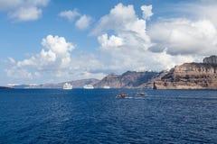 Κρητική θάλασσα στην Ελλάδα Στοκ εικόνα με δικαίωμα ελεύθερης χρήσης