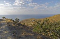 Κριμαία, ακρωτήριο Meganom Στοκ φωτογραφίες με δικαίωμα ελεύθερης χρήσης
