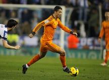 Κριστιάνο Ρονάλντο της Real Madrid Στοκ εικόνες με δικαίωμα ελεύθερης χρήσης