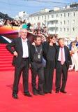 Κριτική επιτροπή του φεστιβάλ ταινιών της Μόσχας Στοκ φωτογραφίες με δικαίωμα ελεύθερης χρήσης