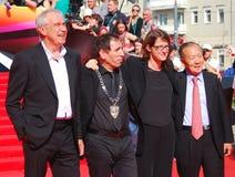 Κριτική επιτροπή του φεστιβάλ ταινιών της Μόσχας Στοκ Εικόνες