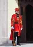Κροατία/τάγμα φρουράς τιμής/φύλαξη Στοκ φωτογραφία με δικαίωμα ελεύθερης χρήσης