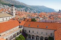 Κροατία dubrovnik παλαιά Στοκ Φωτογραφία