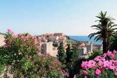 Κροατία dubrovnik Τοπ όψη στοκ εικόνες