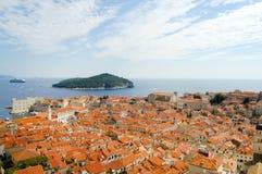 Κροατία dubrovnik Στοκ Εικόνα