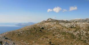 Κροατία/Idyl/βουνά, θάλασσα και νησιά Στοκ φωτογραφία με δικαίωμα ελεύθερης χρήσης