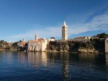 Κροατία rab στοκ εικόνες
