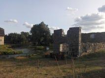 Κροατία, Sinac, καλοκαίρι στοκ εικόνες