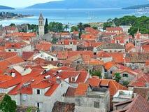 Κροατία trogir Στοκ Εικόνες