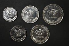 κροατικά χρήματα νομίσματος kuna Στοκ εικόνα με δικαίωμα ελεύθερης χρήσης