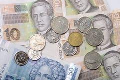 κροατικά χρήματα Στοκ εικόνα με δικαίωμα ελεύθερης χρήσης