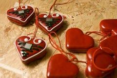 κροατικές καρδιές θερμέ&sigma Στοκ εικόνα με δικαίωμα ελεύθερης χρήσης