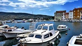 Κροατική μαρίνα Στοκ φωτογραφία με δικαίωμα ελεύθερης χρήσης