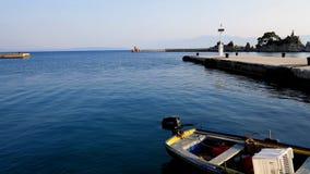 Κροατική μαρίνα Στοκ εικόνες με δικαίωμα ελεύθερης χρήσης