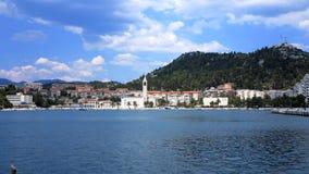 Κροατική μαρίνα Στοκ εικόνα με δικαίωμα ελεύθερης χρήσης