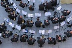 Κροατική ορχήστρα στρατού στο στρατιωτικό προσκύνημα σε Lourdes, Fran Στοκ εικόνα με δικαίωμα ελεύθερης χρήσης