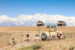 Κροατικοί στρατιώτες που προετοιμάζονται για το στόχο - μετατόπιση κλίσης στοκ φωτογραφία με δικαίωμα ελεύθερης χρήσης