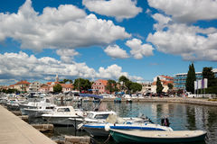 Κροατικό λιμάνι Στοκ Φωτογραφία