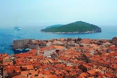 κροατικό νησί Στοκ Εικόνα