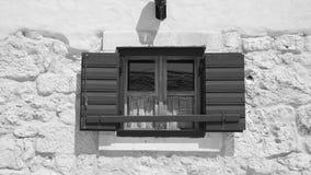 κροατικό παράθυρο Στοκ Φωτογραφίες