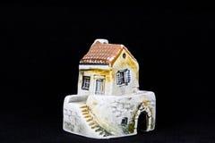 Κροατικό σπίτι, εθνική αρχιτεκτονική Στοκ εικόνα με δικαίωμα ελεύθερης χρήσης