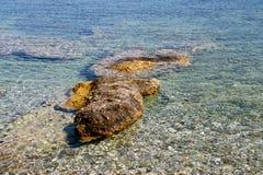 Κροκόδειλος στην παραλία Στοκ φωτογραφία με δικαίωμα ελεύθερης χρήσης