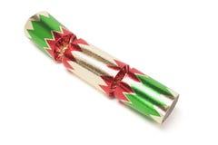 κροτίδα Χριστουγέννων Στοκ Εικόνες
