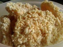 Κροτίδες ρυζιού Στοκ Εικόνες