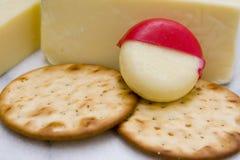 κροτίδες τυριών Στοκ εικόνες με δικαίωμα ελεύθερης χρήσης