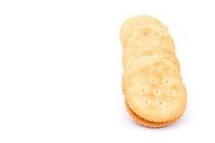 Κροτίδα κρέμας τυριών σάντουιτς Στοκ Εικόνες