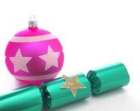 Κροτίδα Χριστουγέννων Στοκ Φωτογραφία