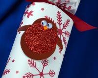 Κροτίδα Χριστουγέννων Στοκ φωτογραφία με δικαίωμα ελεύθερης χρήσης