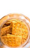 Κροτίδες ζάχαρης στο βάζο VII μπισκότων Στοκ Εικόνα
