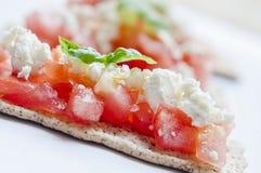 Κροτίδες τυριών φέτας Στοκ εικόνες με δικαίωμα ελεύθερης χρήσης