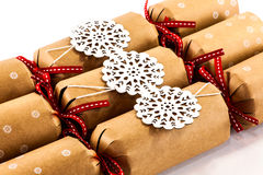 Κροτίδες Χριστουγέννων Στοκ εικόνα με δικαίωμα ελεύθερης χρήσης